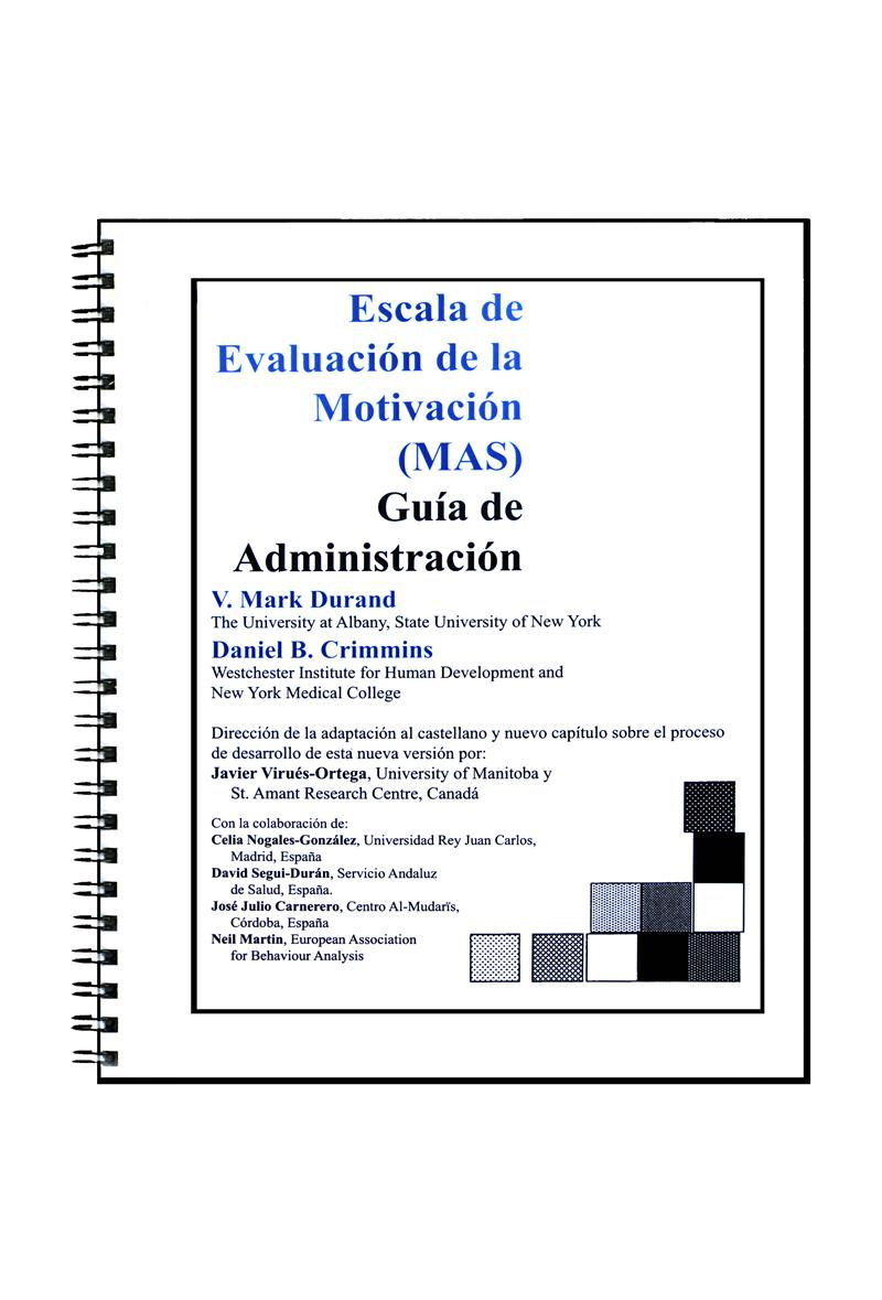 motivation assessment scale administration guide and set of 25 forms